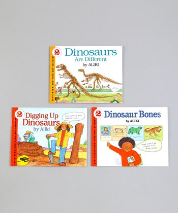 Aliki: Let's Read & Find Out Dinosaur Paperbacks