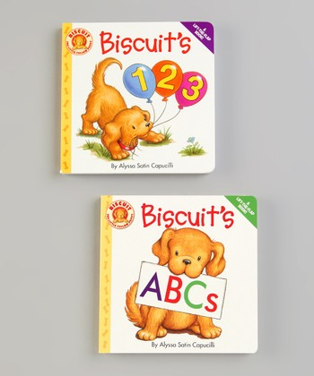 Biscuit's 123 & Biscuit's ABCs Lift-the-Flap Board Books