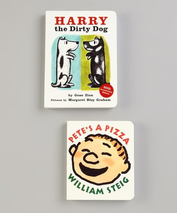 Harry the Dirty Dog & Pete's a Pizza Board Books