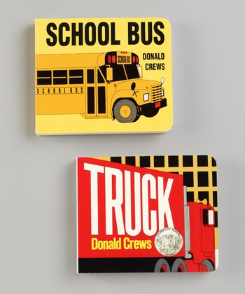 School Bus & Truck Board Books