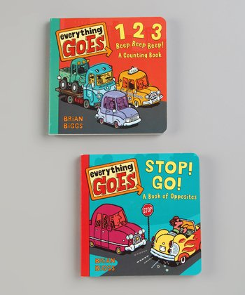 Everything Goes Board Book Set