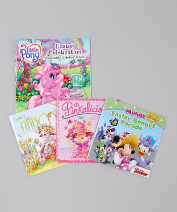 Girls' Favorite Characters Easter Book Set