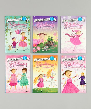 Pinkalicious I Can Read Paperback Set