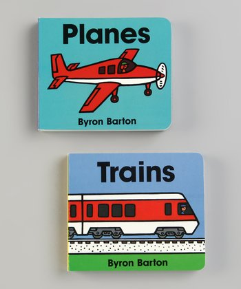 Trains & Planes Board Books
