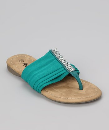 Green Beach 49 Sandal