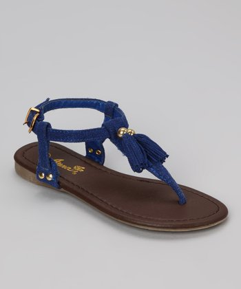 Blue Tassel Beach 56 Sandal