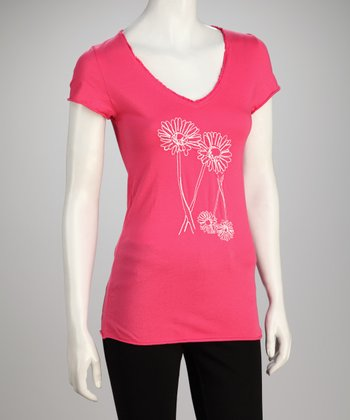 Poppy Double Daisy Tee