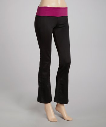 Sangria Yoga Pants