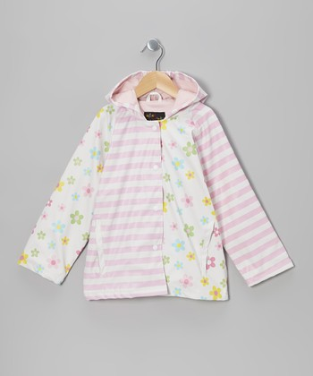 Pink Posies Raincoat - Infant, Toddler & Kids