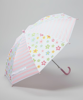 Pink Posies Umbrella