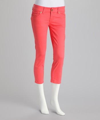 Mai Tai Orange Cropped Pants