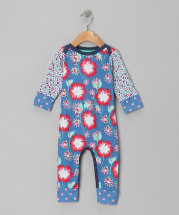 Azure Floral Doris Playsuit - Infant