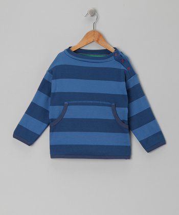 Navy Stripe Sam Pullover - Toddler & Boys