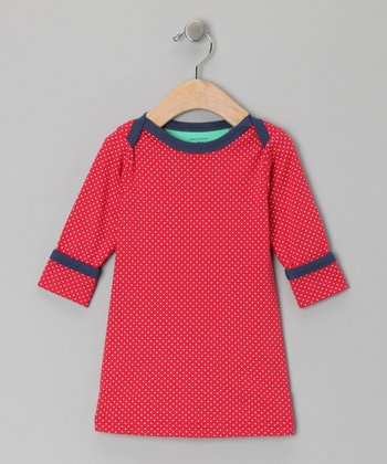 Red Polka Dot Dress - Infant