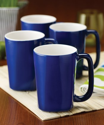 Blue 14-Oz. Mug - Set of Four