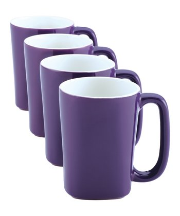 Purple 14-Oz. Mug - Set of Four