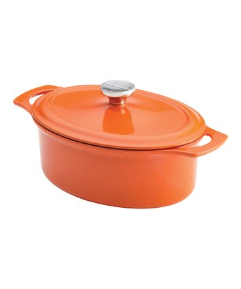 Orange 3.5-Qt. Oval Dutch Oven