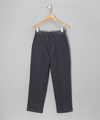 Gray School Uniform Pants - Boys