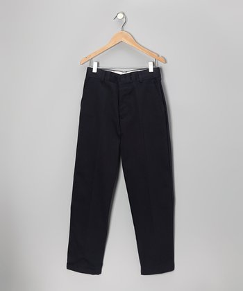 Navy School Uniform Pants - Boys