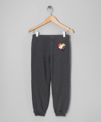 Charcoal Heather Play Date Sweatpants
