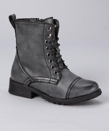 Bucco Gray Boot