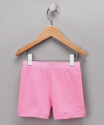 Pink Rhinestone Undershorts - Toddler & Girls