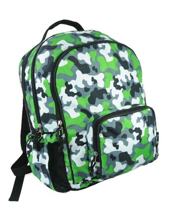Green Camo Macropak Backpack