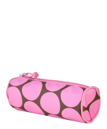 Big Dots Pink Pencil Case