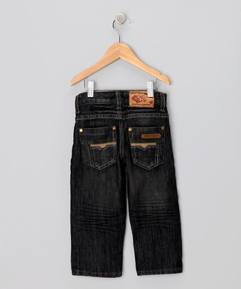 JB Original Vintage Dark Wash Jeans - Toddler & Boys