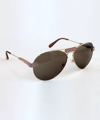Light Pink Pilot Sunglasses
