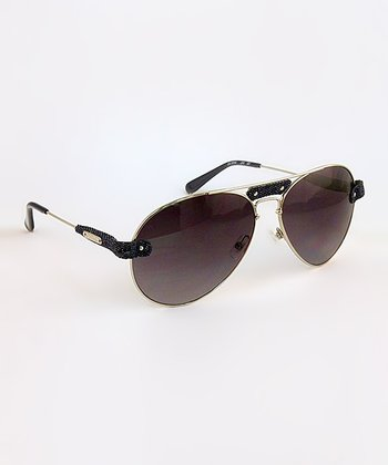 Denim Pilot Sunglasses