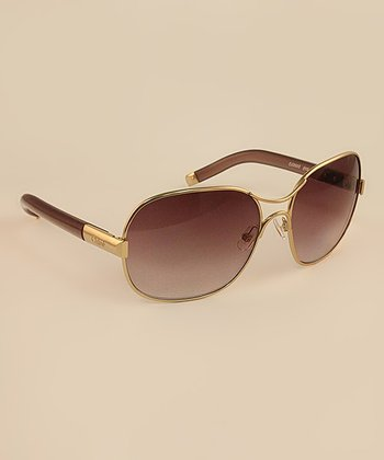 Plum Square Pilot Sunglasses