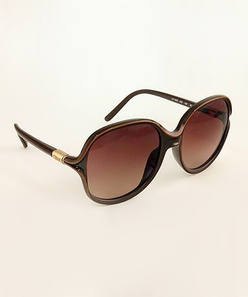 Brown Color Accent Sunglasses