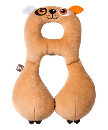 Brown Dog Travel Pillow