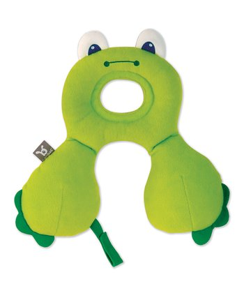 Green Frog Travel Pillow