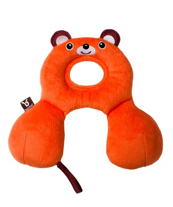 Orange Bear Travel Pillow