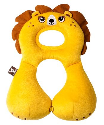 Yellow Lion Travel Pillow