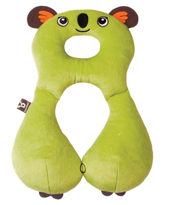 Green Koala Travel Pillow