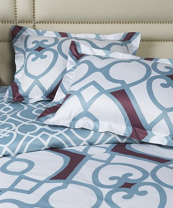 Red & Blue Dream Duvet Cover Set