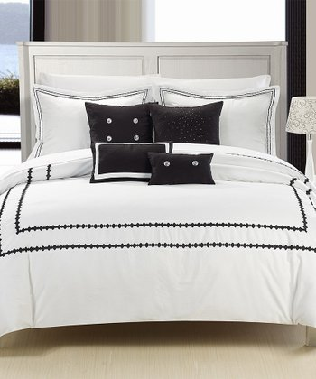 Black Mandalay Comforter Set