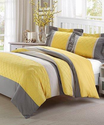 Yellow Marlene Duvet Set