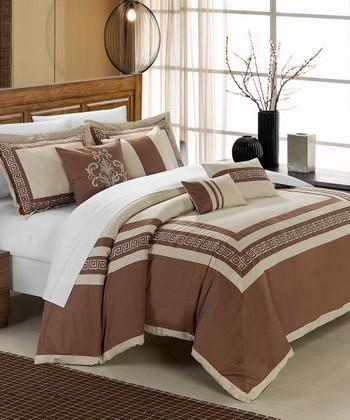 Taupe Venice Comforter Set