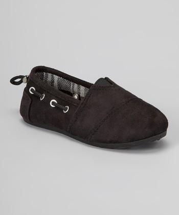 Black Dracoy Slip-On Shoe