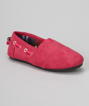Fuchsia Dracoy Slip-On Shoe