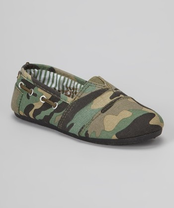 Camo Dracoy Slip-On Shoe