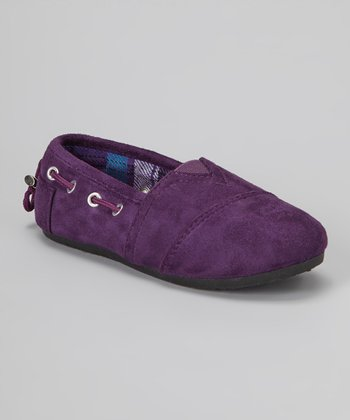 Purple Dracoy Slip-On Shoe