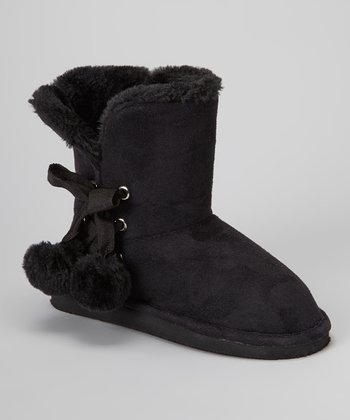 Black Betty Pom-Pom Boot