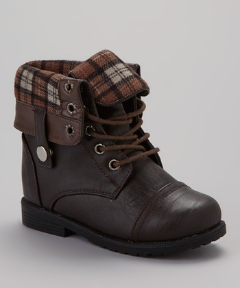 Brown Cuffed Damara Boot