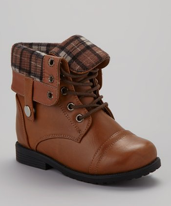Tan Cuffed Damara Boot
