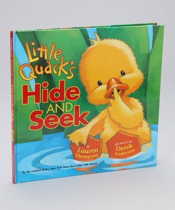 Little Quack's Hide and Seek Hardcover
